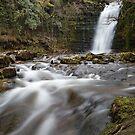 Caerfanell Falls by Stephen Liptrot
