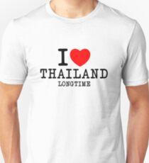 I love Thailand 1 Unisex T-Shirt