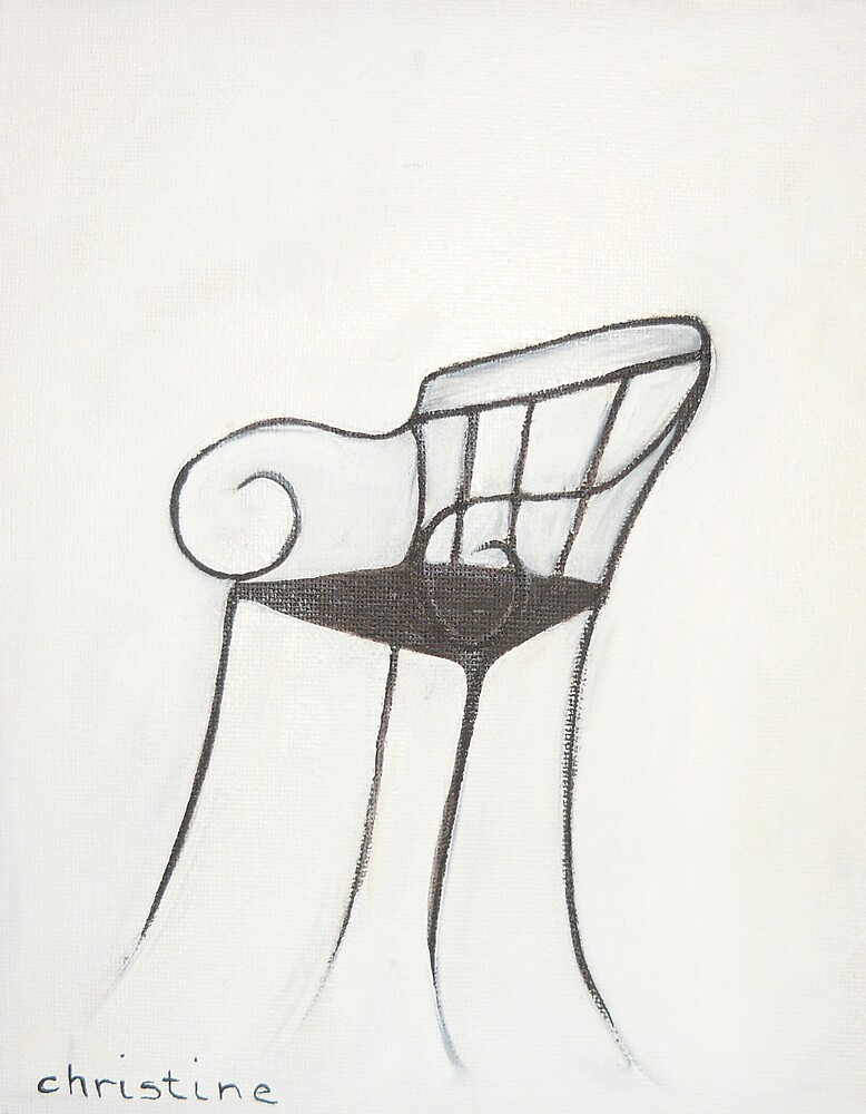 Chair - Paris by ChristineBetts
