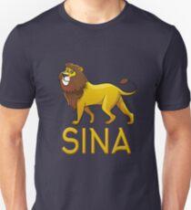 Sina Lion Drawstring Bags Unisex T-Shirt