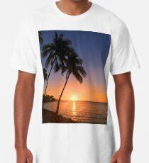 Sunset in Fiji  Long T-Shirt