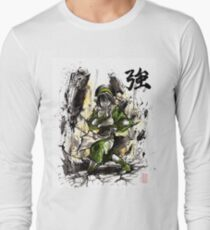 Toph from Avatar with sumi and watercolor T-Shirt