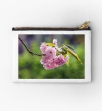 blossom of cherry tree in springtime Studio Pouch