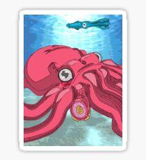 Octopod Sticker