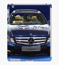 Mercedes C Class saloon blue metallic iPad Case/Skin