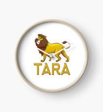 Tara Lion Drawstring Bags Clock