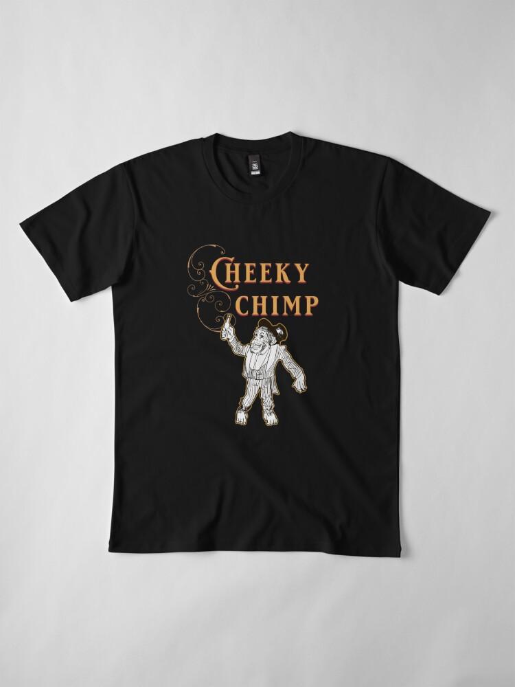 Alternate view of Cheeky Chimp - The Britannia Panopticon  Premium T-Shirt