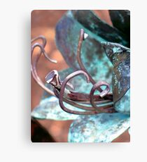 Patina Flower Canvas Print