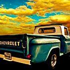 Five-Six Pickup Sticks Under a Golden Sky by ChasSinklier