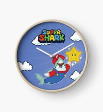 GamerShark - Byte Plays Super Shark Bros Clock