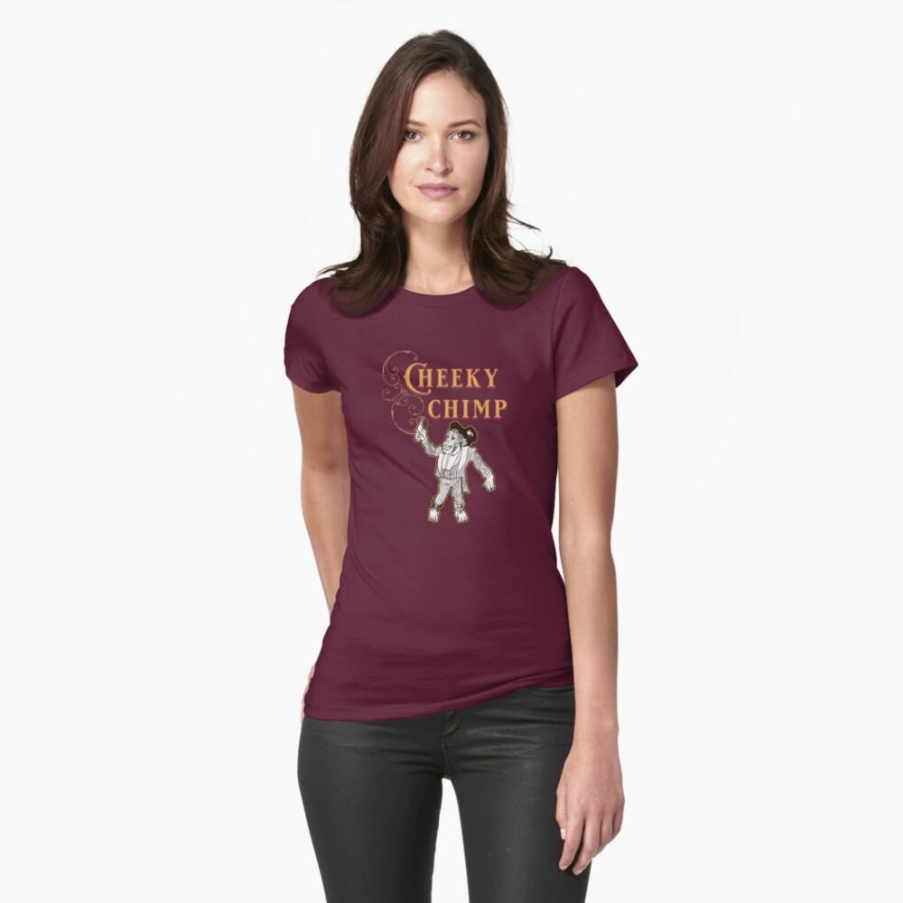 Cheeky Chimp - The Britannia Panopticon  Fitted T-Shirt
