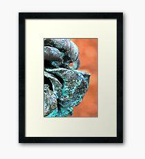 Patina Flower 2 Framed Print