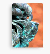 Patina Flower 2 Canvas Print