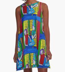 Queen of Hearts  ( ORIGINAL SOLD) A-Line Dress