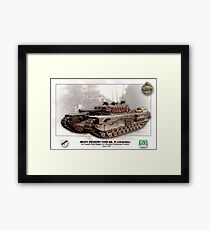 Heavy Infantry Tank Mk. IV (Churchill) Framed Print