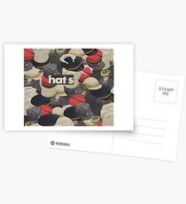 HATS Postcards
