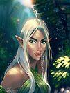 In the Elven Wood by FaerytaleWings