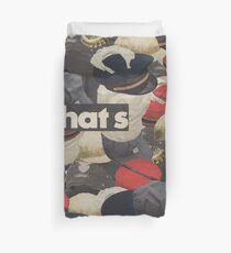 HATS Duvet Cover