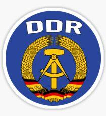 EAST GERMANY - DDR Sticker