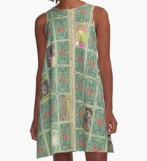 stampshash A-Line Dress
