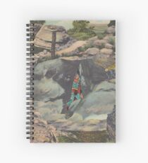 Caveman Spiral Notebook
