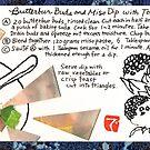 Butterbur Miso Dip by dosankodebbie