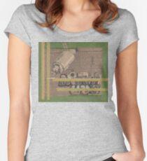Rough Craft Giraffe Women's Fitted Scoop T-Shirt