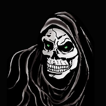 Grim Death reaper Halloween death horror day by MNA-Art