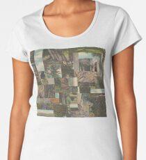Tree Points Drop Women's Premium T-Shirt