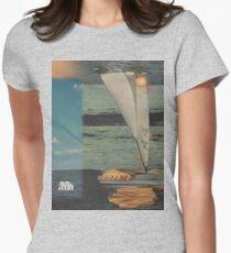 Sun Set Sail Women's Fitted T-Shirt