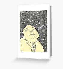 The Thinking Man Greeting Card
