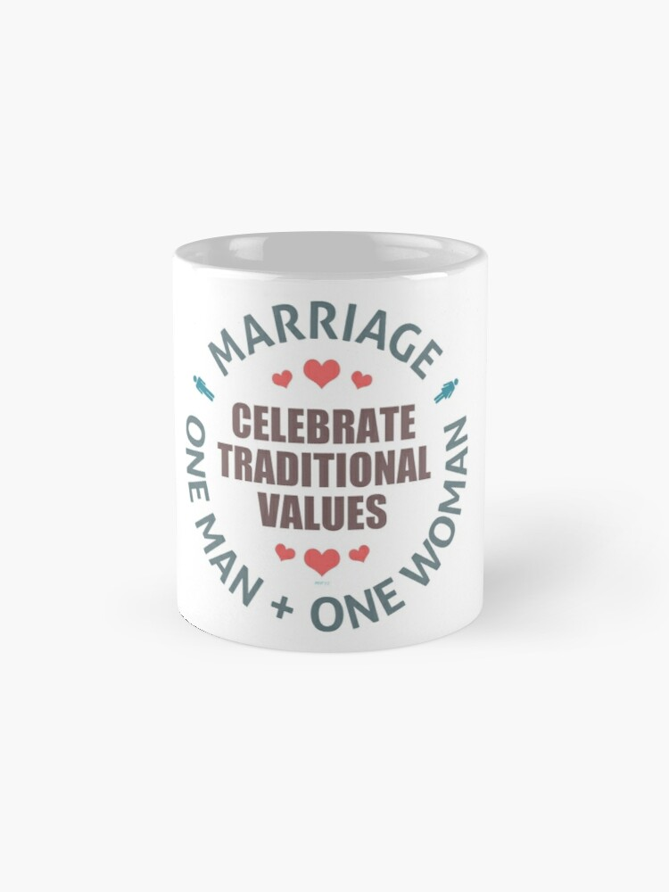 Alternate view of Celebrate Traditional Values Standard Mug