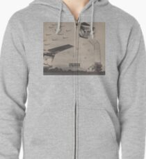 Fighter Flight Zipped Hoodie