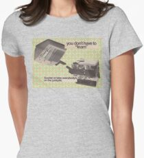 Machine Learning Women's Fitted T-Shirt