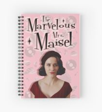 The Marvelous Mrs. Maisel Spiral Notebook