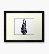 sirius girl Framed Print