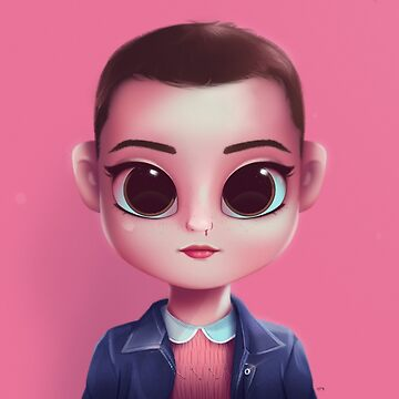 Eleven - Stranger Things by davexp