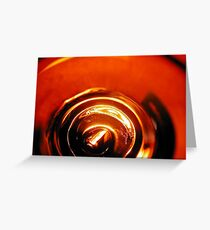 empty beer Greeting Card