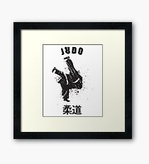 Design Judo Love Framed Print