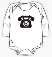 Telephone symbol One Piece - Long Sleeve