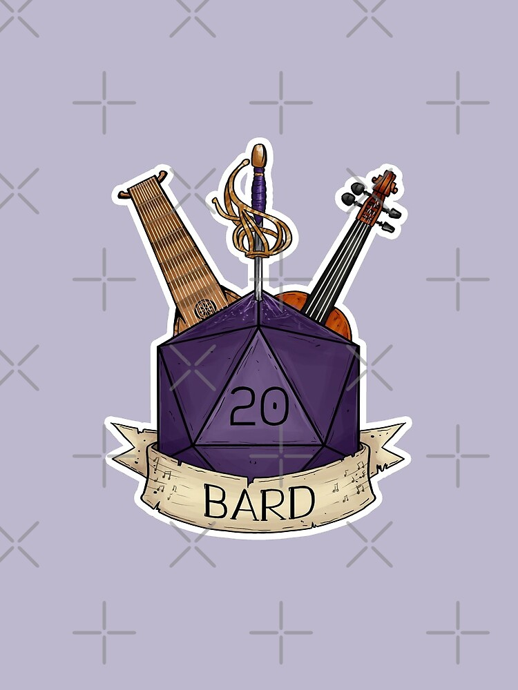 D&D - D20 - Bard by sheppard56