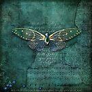 Jewel Butterfly by Melanie Moor