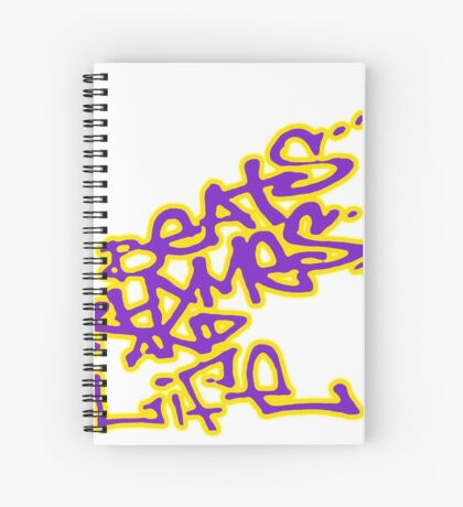A Tribe Called Quest : Beats Rhymes and Life replica promo  Spiral Notebook