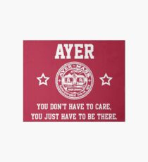 Ayer - You don't have to care Art Board