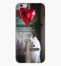 Samoyed Kisses iPhone Case