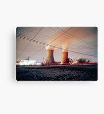 Nuclear Canvas Print