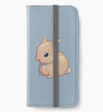 Cute Bunny iPhone Flip-Case/Hülle/Klebefolie