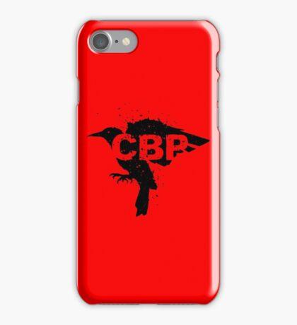 Crippled Black Phoenix Logo (Black) iPhone Case/Skin
