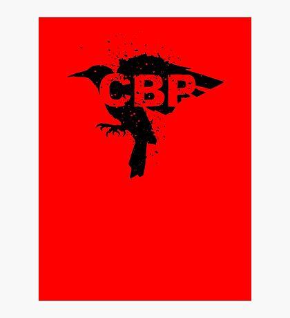 Crippled Black Phoenix Logo (Black) Photographic Print