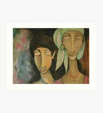 Gipsies Art Print